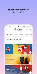 Privalia - Outlet con i migliori marchi di moda 5.11.2 Screenshots 1