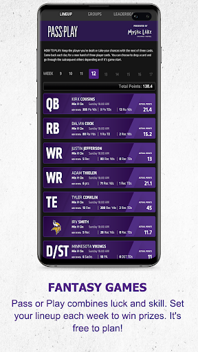 Minnesota Vikings Mobile android2mod screenshots 8