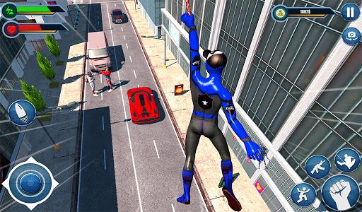 Spider hero game - mutant rope man fighting games  screenshots 6