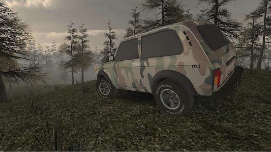 Forest Roads. Niva screenshots 5