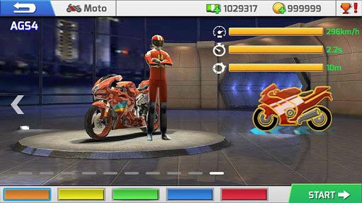 Code Triche Course Réelle de Moto 3D (Astuce) APK MOD screenshots 5