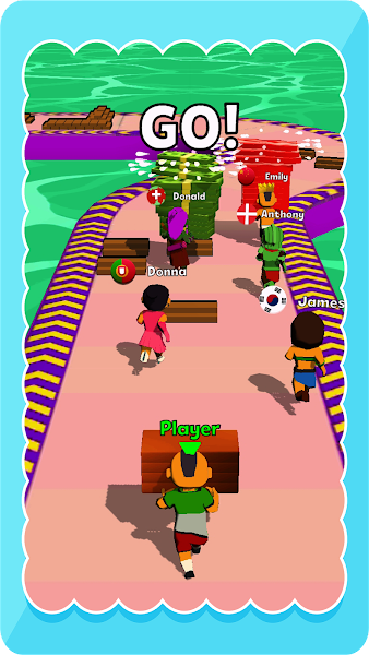 Shortcut Rush: Shortcut Way Stack And Collect Race