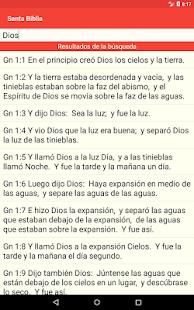 Santa Biblia Gratis 4.7 Screenshots 13