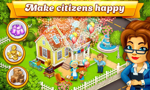 Cartoon City: farm to village. Build your home  screenshots 14