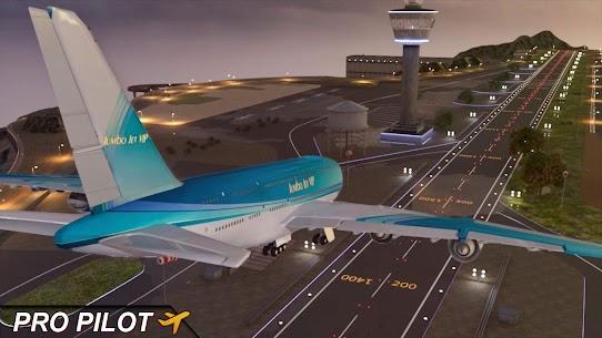 Uçan Uçak Simülatörü Çevrimdışı – Uçak oyunları Full Apk İndir 1
