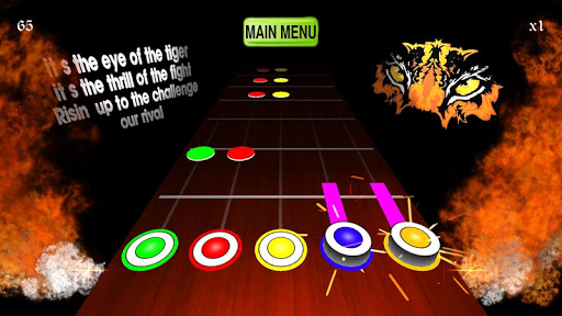 Guitarist : guitar hero battle - Guitar chords 5.0 Screenshots 4