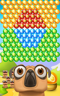 Pug Pop Bubble Shooter: Dog Bulldog Shoot Ball Egg Screenshot