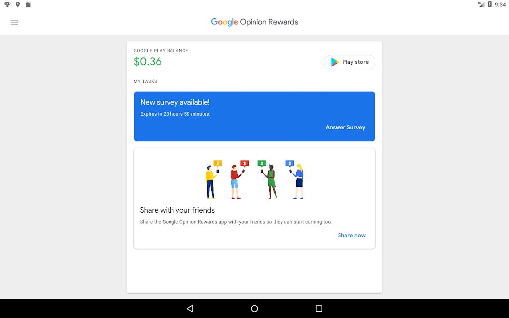 Google Opinion Rewards  poster 5