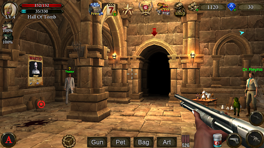 Dungeon Shooter MOD (Free Shopping) APK for Android 1