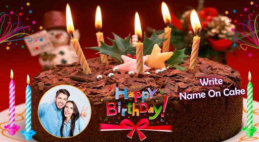 Name Photo On Birthday Cake screenshots 1