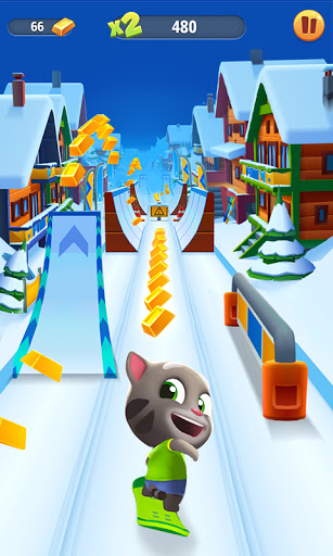 Code Triche Talking Tom: Course à l'or (Astuce) APK MOD screenshots 1