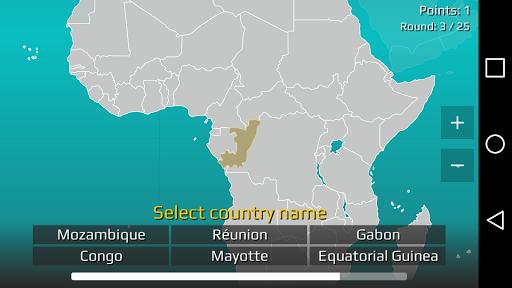 World Map Quiz 2.17 screenshots 6