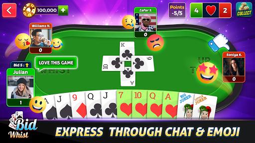 Bid Whist - Best Trick Taking Spades Card Games 12.0 screenshots 13