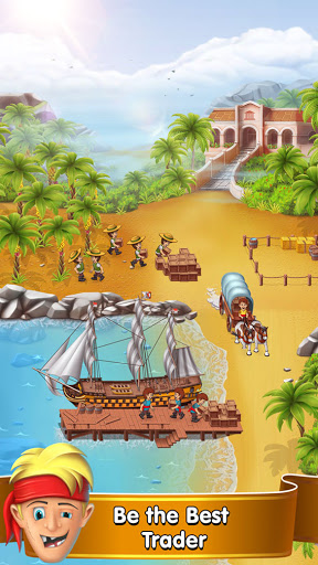 Pocket Ships Tap Tycoon: Idle Seaport Clicker apkpoly screenshots 1