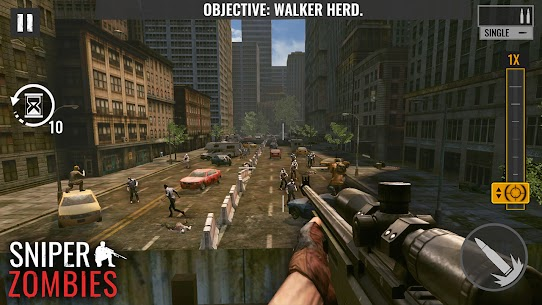 Sniper Zombies Offline Games 3D Hileli Apk Güncel 2021** 3