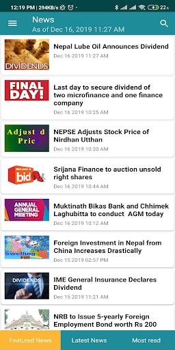 Merolagani Nepse App screenshots 2