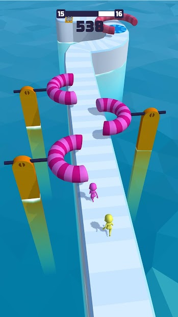 Fun Race 3D Android App Screenshot