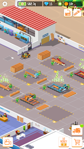 Free Idle Lumber  Factory Tycoon Apk Download 2021 5