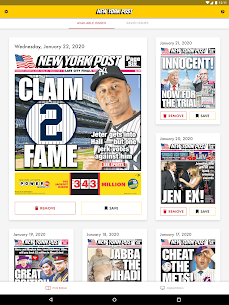 Free New York Post for Tablet 3