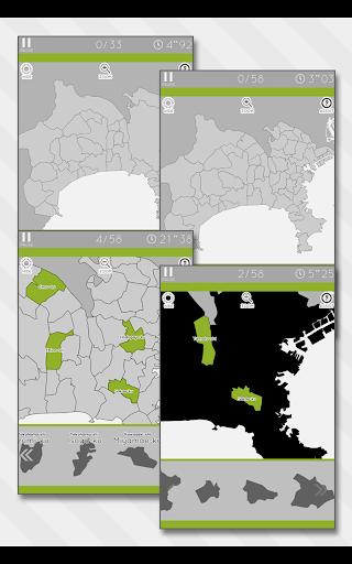 Enjoy Learning Kanagawa Map Puzzle 3.2.3 screenshots 7