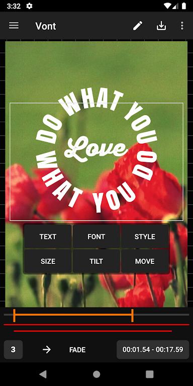 Vont - Text on Videos  poster 1
