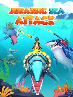 Jurassic Sea Attack Screenshot