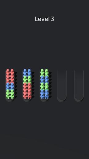 Crowd Sort - Color Sort & Fill  screenshots 5