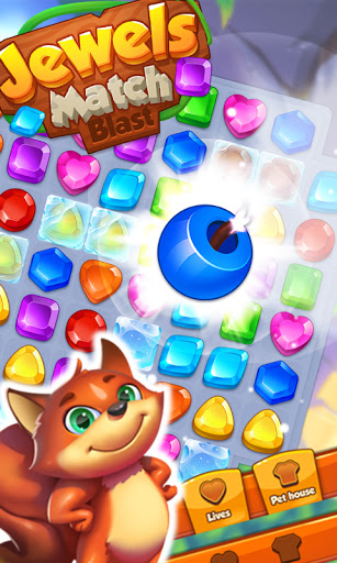 Jewels Match Blast - Match 3 Puzzle Game android2mod screenshots 2