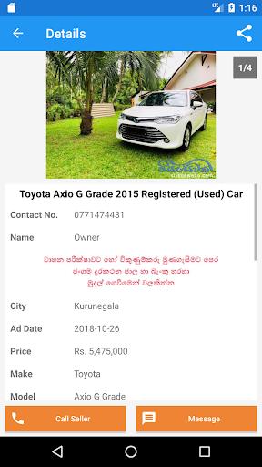 Riyasewana - Buy & Sell Vehicles 3.1 Screenshots 4