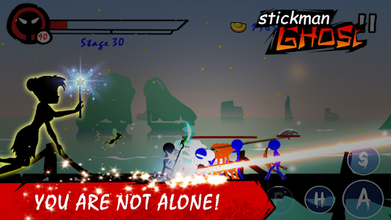 Stickman Ghost Premium: Ninja Warrior Screenshot