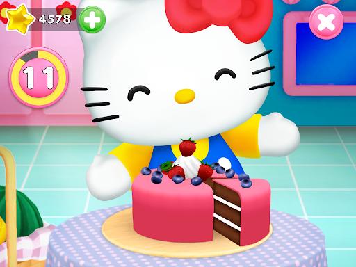 Talking Hello Kitty - Virtual pet game for kids  screenshots 7