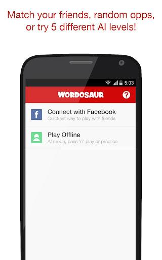 Wordosaur Top Rated Word Game  screenshots 2