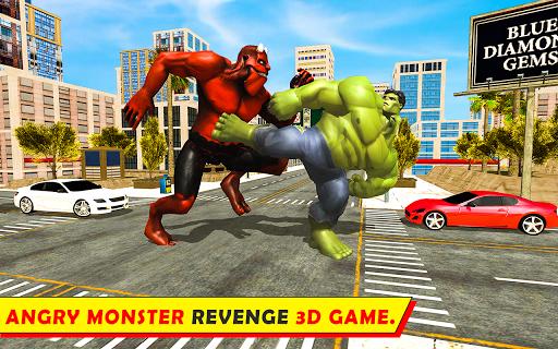 Unbelievable Superhero monster fighting games 2020  screenshots 3