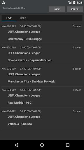 Sport Schedule 1.03 Screenshots 6