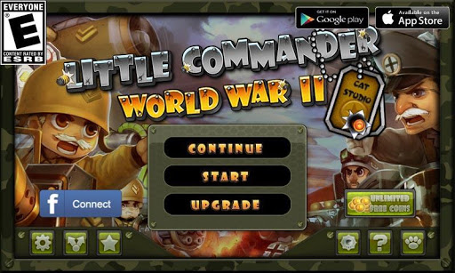 Little Commander - WWII TD 1.9.3 Screenshots 5