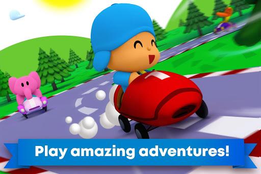 Pocoyo Racing: Kids Car Race - Fast 3D Adventure  screenshots 3
