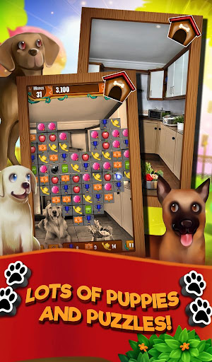 Match 3 Puppy Land - Matching Puzzle Game 1.0.16 screenshots 6