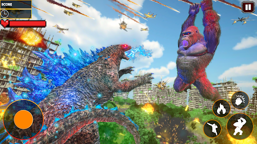Godzilla Smash City: King Kong Games 2020 apkdebit screenshots 1