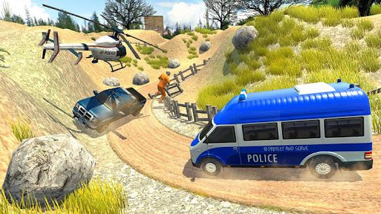 US Police Car Chase Driver:Free Simulation games screenshots 1