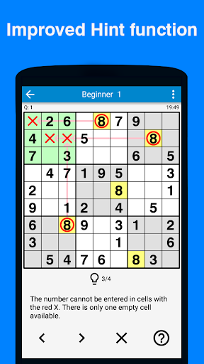 Sudoku - 5700 puzzles Free 3.029 screenshots 3