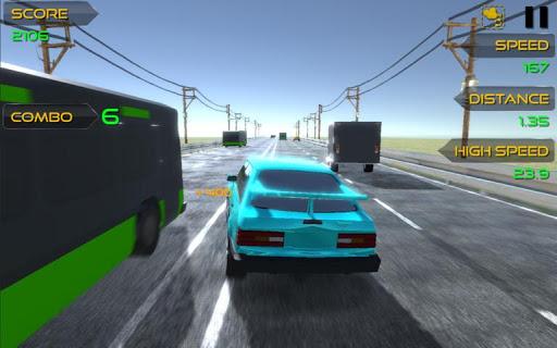 traffic moto racer screenshot 2
