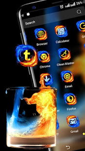 Download Fire & Ice Theme Launcher For PC Windows and Mac apk screenshot 3