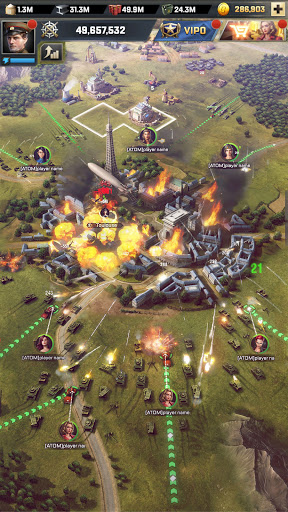 Kiss of War android2mod screenshots 8