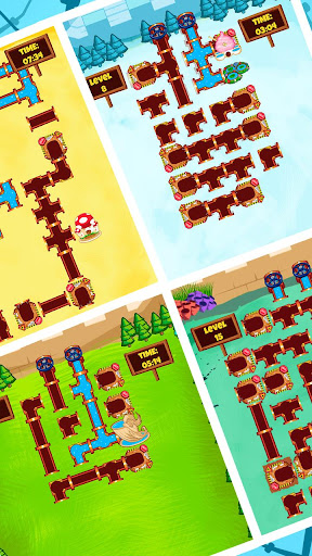Plumber World : connect pipes (Play for free) screenshots 4