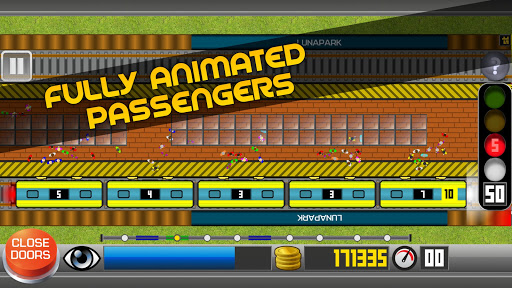Subway Simulator 2D - city metro train driving sim apkpoly screenshots 5