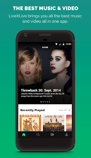 LiveXLive - Streaming Music and Live Events apktram screenshots 1