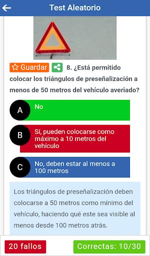 Test DGT 2021 - Practicatest screenshot