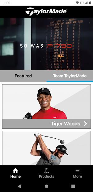 TaylorMade Golf Product Guide screenshot 2