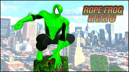 Rope Frog Hero: Rope Ninja Fighting Games 1.0.5 screenshots 1