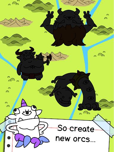 Orc Evolution - Create Epic Fantasy Monsters screenshots 7
